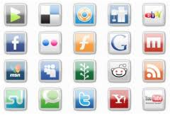 Social Services for Social Bookmarking with PR